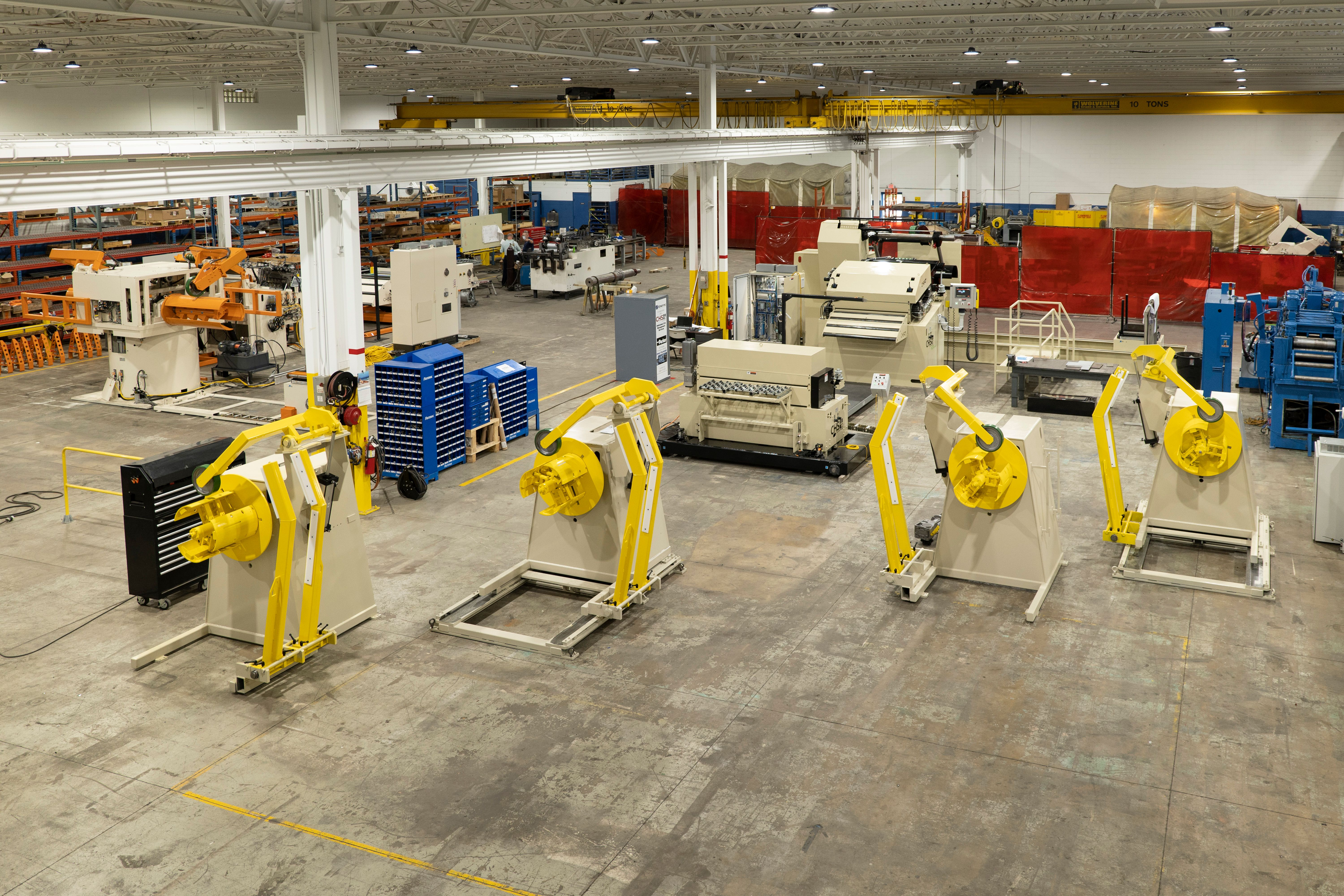 CHS Automation Production Floor